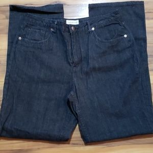 Cold water Creek Black Wash Jeans Sz 14